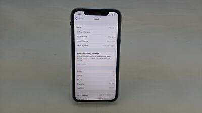 "Apple iPhone A2105, 64GB, 6.1"" Display, Blue, Unlocked Working/No Face ID"