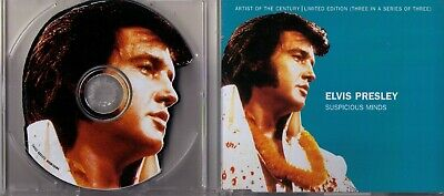Elvis Presley CD Suspicious Minds - Artist Of The Century - Shape CD