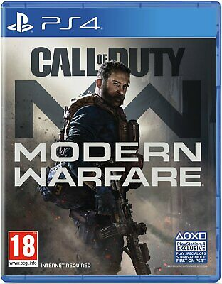 Call of Duty: Modern Warfare Sony Playstation PS4 Game