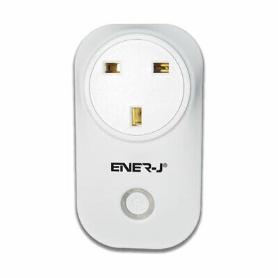Ener-J WiFi Smart Plug with Energy Monitoring, Compatible with Alexa, Google Hom
