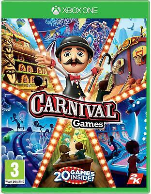 2k Games Carnival Games Brings Party Back Entire Family Xbox One High Quality...