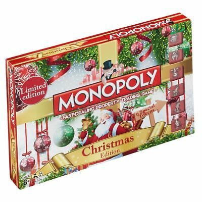 Winning Moves Monopoly Christmas Edition Board Game