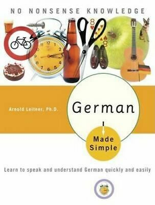 NEW German Made Simple By Arnold Leitner Paperback Free Shipping