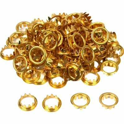 100pc Brass Dial Key Hole Grommets Replacement for Grandfather Clock Parts