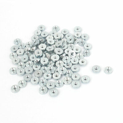 M2 Zinc Plated Self Clinching Rivet Nut Fastener 100pcs for 1mm Thin Plates