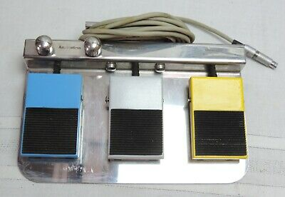 Elmed Lithotripsy Systems Vibrolith Plus 0408 Footswitch Foot Pedal