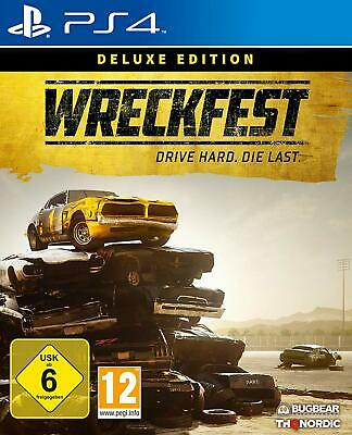 Wreckfest - Deluxe Edition PS4 New+Boxed