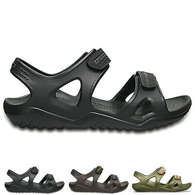 Mens Crocs Swiftwater Riversandal M Lightweight Rubber Beach Sandals UK 6-14