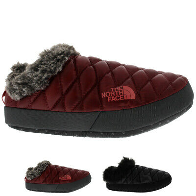 Womens The North Face Thermoball Tent Mule Faux Fur IV Cosy Slippers UK 3-8.5