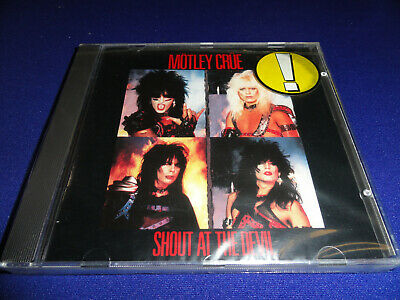 Motley Crue Shout At The Devil Made In Germany 1983 Original Elektra NEW SEALED!