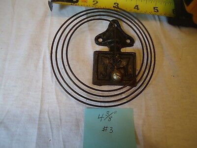 Antique 4-3/8' American Mantle Clock Gong  #3