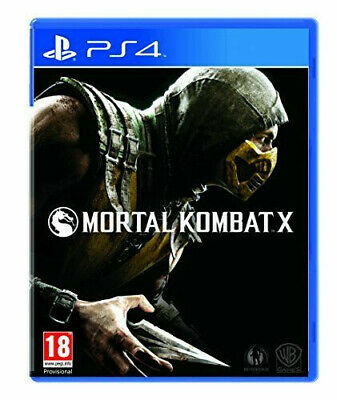 Mortal Kombat X (PS4) - Game  4IVG The Cheap Fast Free Post Very good Condition