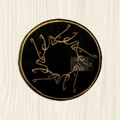 LOTR Ringwraiths Patch Tolkien Sauron The Hobbit Lord of the Rings Embroidered