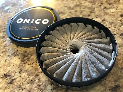 10 Cans Onico Snus Tobacco and nicotine free snus that is based on plant fibers
