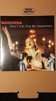 "Madonna Don't Cry For Me Argentina 12"" Vinyl Single Usa.sealed ."