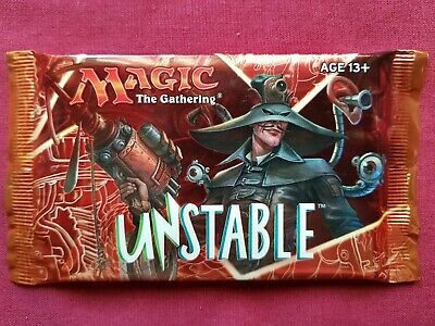 Magic The Gathering UNSTABLE New Sealed Booster Pack MTG