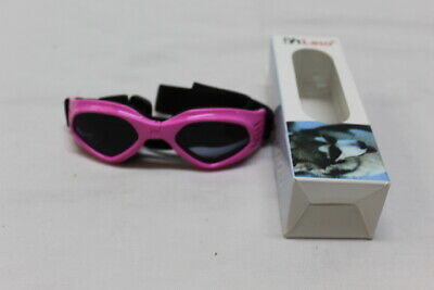PETLESO Dog Pet Goggles Sunglasses UV Protect Pink NEW