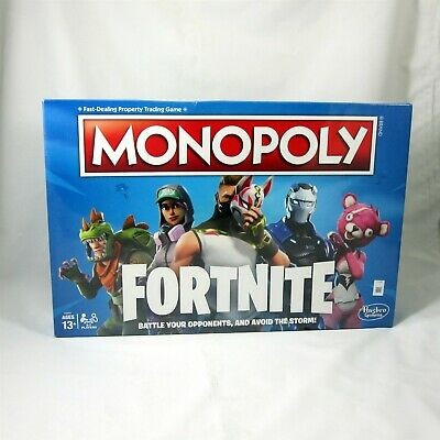 Monopoly Fortnite Edition Board Game New Sealed Hasbro Avoid the Storm