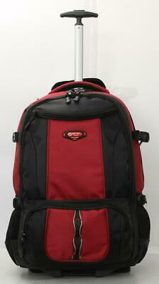 """20""""- 24"""" Strong High Quality Wheeled Light Rucksack Luggage Trolley Bag Backpack"""