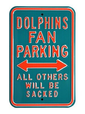 Miami Dauphins Parking Signer Parc Bouclier, NFL Football, 45 cm, Must See