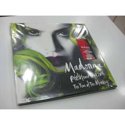 Madonna 3 Lp Rebel Heart Tour 2016 The Year Of  Monkey
