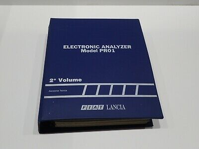 Manuale Assistenza Per Officine Fiat Lancia Electronic Analyzer Thema 8.32 (S)