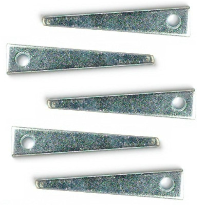 """x 12g BZP SCREW IN PLANTS * PACK OF 5 x VINE EYES BRIGHT ZINC PLATED 75mm 3/"""""""