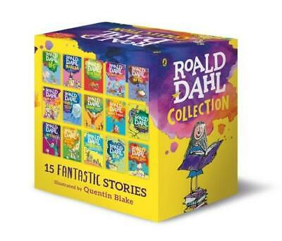 Roald Dahl: 15 books collection pack: The Witches, Matilda, The BFG, Going Solo,