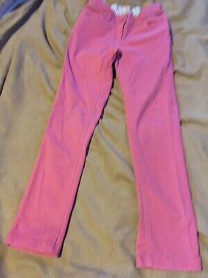Next Girls Pink Trousers Age 8 Years Good Condition