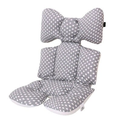 Cotton Stroller Cushion Comfort Seat Cover Nappy Pad High Chair Protector