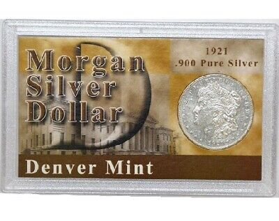 First Commemorative Mint 1921 Morgan Silver Dollar