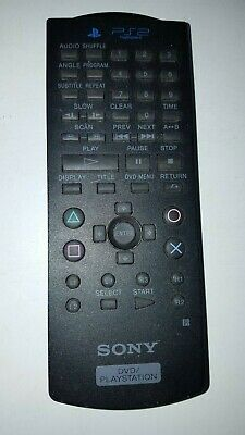 Genuine Sony Playstation 2 PS2 Official DVD Media Remote Control SCPH-10150