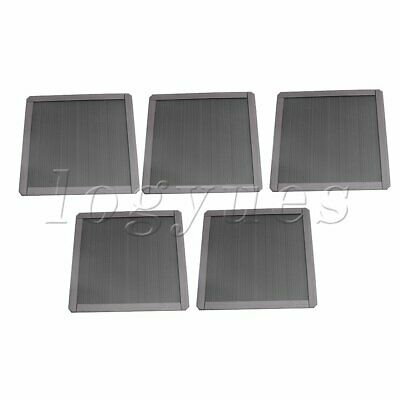 5 xComputer Fan Magnetic Dust proof Filter Mesh Strainer 140mm in Length
