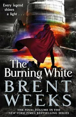 NEW The Burning White By Brent Weeks Paperback Free Shipping