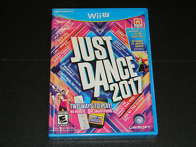 Just Dance 2017 (Nintendo Wii U Game) **BRAND NEW**     THIS IS NOT A Wii GAME!!