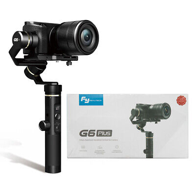 G6 Plus 3-Axis Handheld Gimbal Stabilizer 3-in-1 for Cell Phone Gopro Cameras