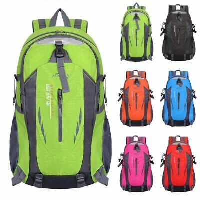 Outdoor Sports Bags Waterproof Camping Hiking Trekking Rucksack Travel Backpack