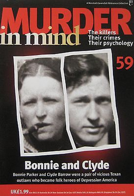 Murder in Mind Issue 59 - Bonnie and Clyde