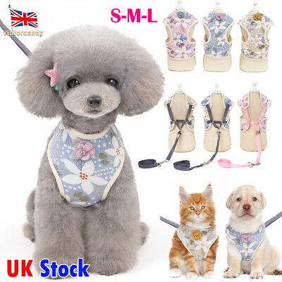 Non-Pull Dog Harness Adjustable Pet Puppy Walking Strap Vest Soft Chest Belt Cat