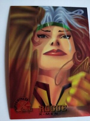 1995 X-Men Chromium Fleer Ultra Rogue #11