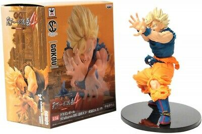 Banpresto Dragon Ball Big SCulture Budokai Figure SS4 Goku Unpainted BP37769