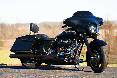 "2013 Harley-Davidson Touring  2013 Harley-Davidson Street Glide FLHX Thousands in Extras Blacked-Out 103""/6spd"