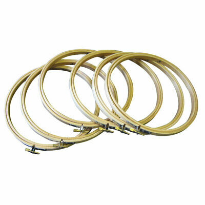 RVFM Embroidery Hoop 8 Inch - Pack6