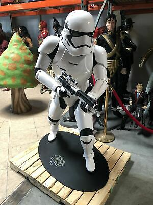 Rare Star Wars Stormtrooper First Order Life Size Statue ANOVOS