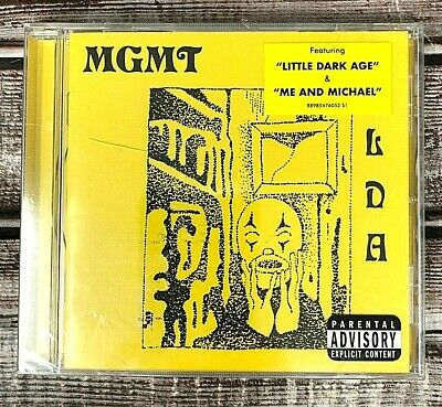 MGMT Featuring Little Dark Age & Me And Michael CD Parental Advisory NEW!