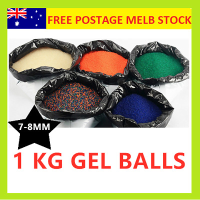 1 KG LOT HARDENED 7-8mm Gel Balls Ammo Comp grade Ball Blaster Jinming Gen8 M4A1