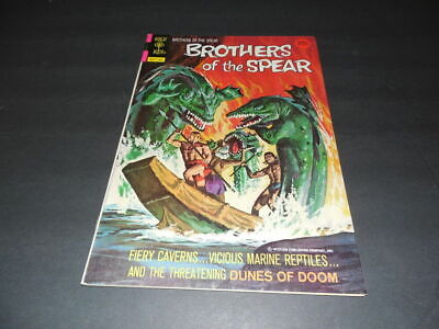 Brothers of the Spear #8 March 197 Gold Key Bronze Age                   ID:7113