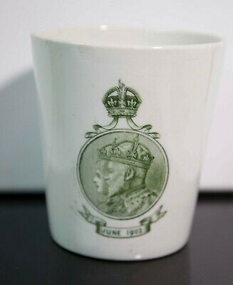 KING EDWARD VII CORONATION 1902 CELEBRATION BEAKER CUP mug ROYAL DOULTON