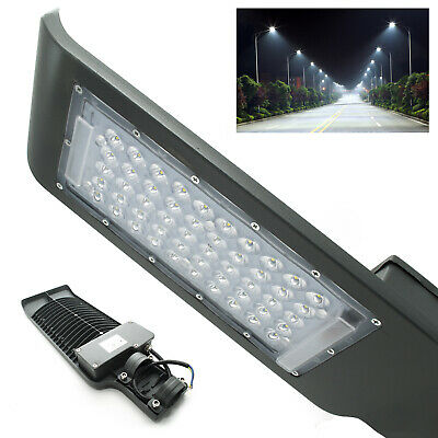 Faro LED Carretera Armadura Farola Estaca Pared Luz Industrial Exterior ip65