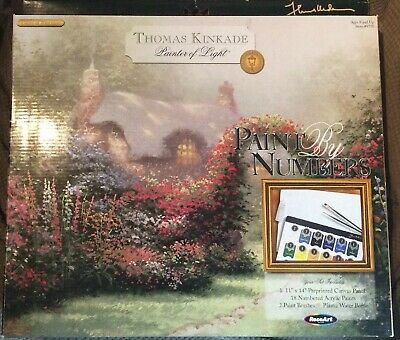 Thomas Kinkade Paint by Number Glory Of Morning #9750 Dated 2004